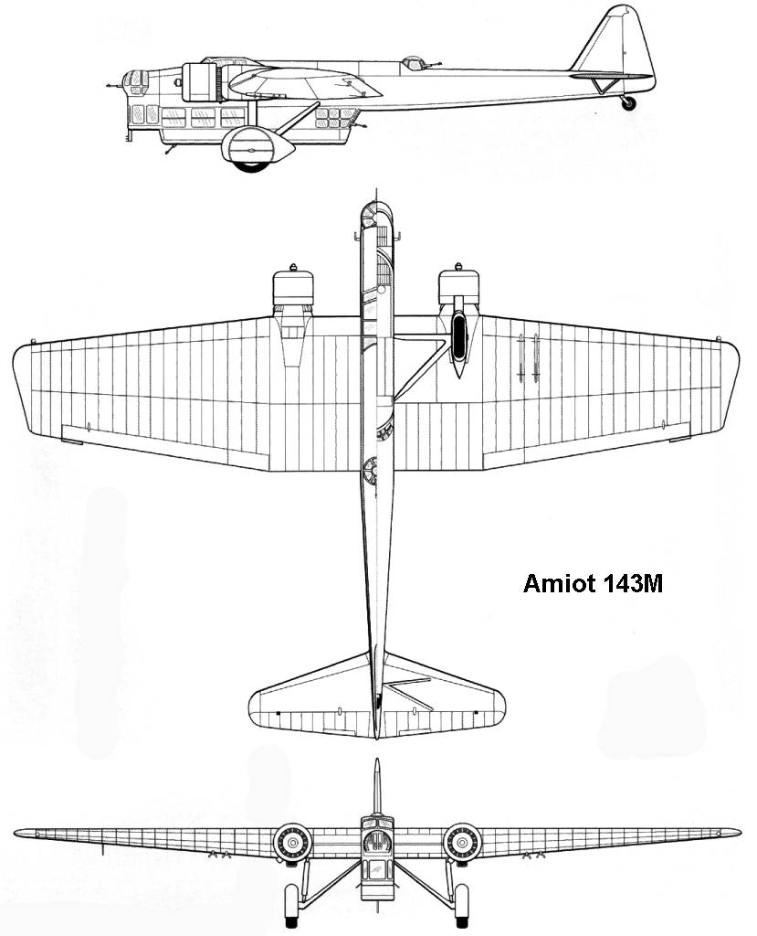 plan drawing hanriot 182