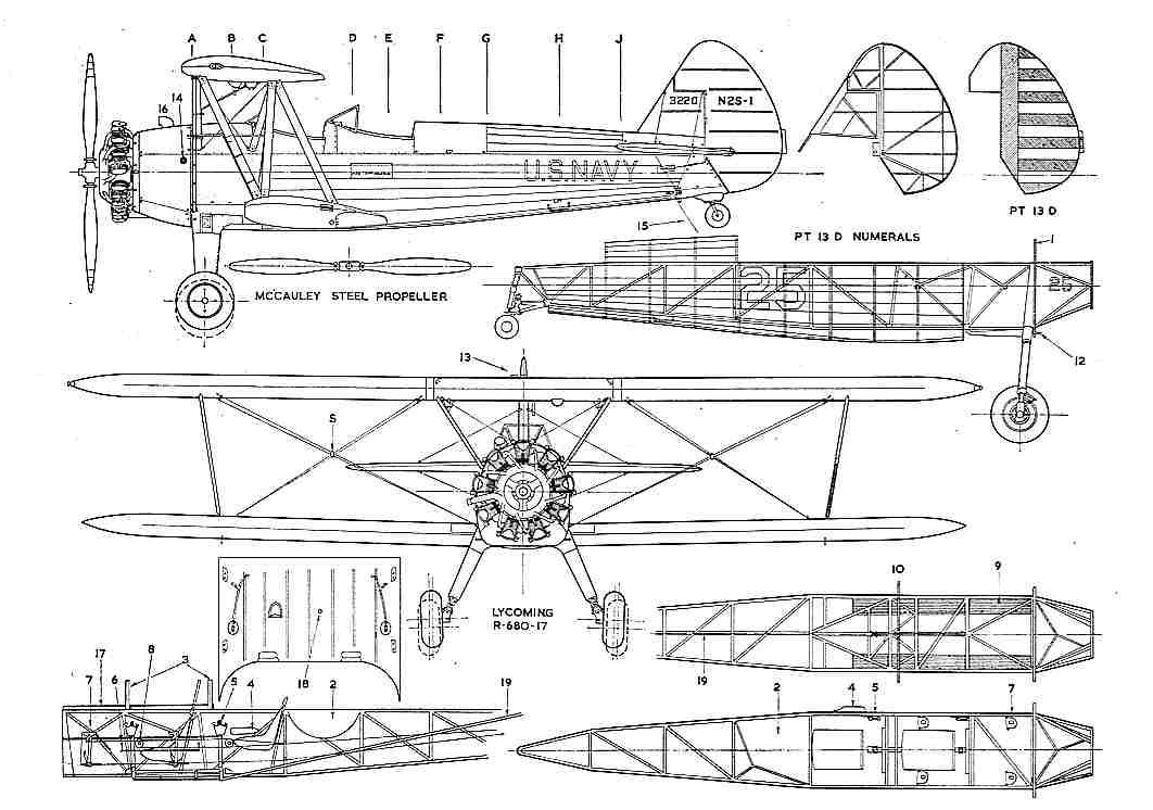 Modifikacija aviona iz seta 7307 Flying Mummy Attack Stearmanpt17_1_3v